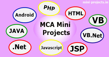 MCA Mini Project Topics and Ideas | Mini Project Ideas